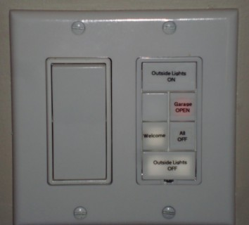 Front light switch