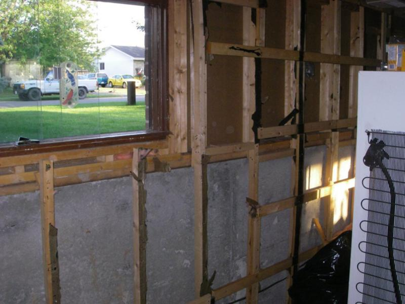Tear-down and framing exterior walls « Greg MacLellan