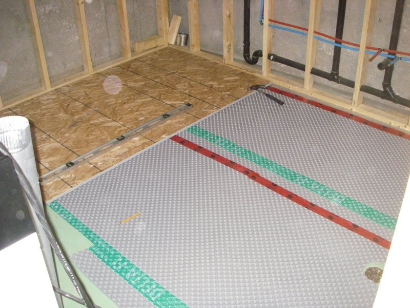 Basement Subfloor Greg MacLellan - Best material for bathroom subfloor