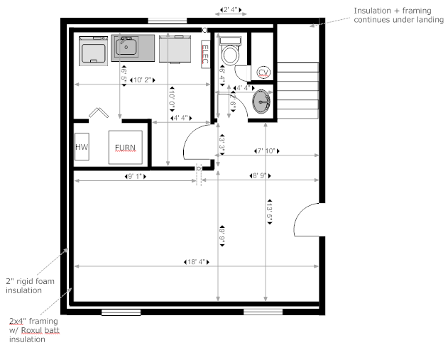 Basement Bathroom Floor Plans