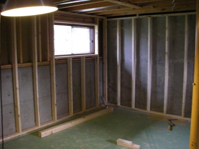 Tear down and framing exterior walls greg maclellan for Design my basement online free