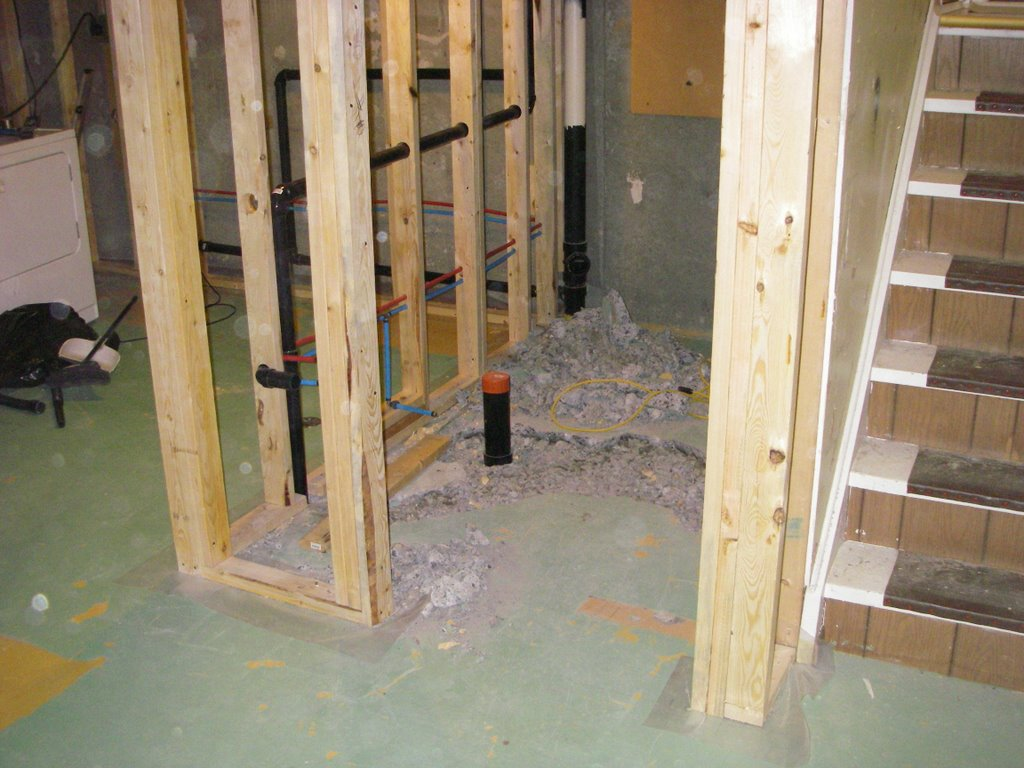 Bathroom rough in greg maclellan for Rough in plumbing for toilet